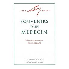 Souvenirs d'un médecin, par Nadar (ed. Roger Greaves)