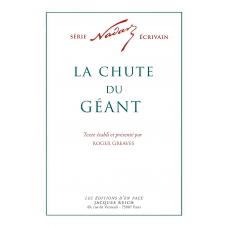La Chute du Géant, par Nadar (ed. Roger Greaves)